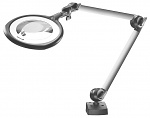 WALDMANN - 112918000-00547274 - Magnifying lamp TEVISIO - RLLQ 48 R, 3.5 dioptres, anti-reflective magnifying glass and long rods, WL31227