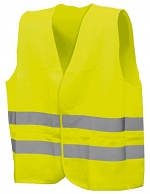 SAFEGUARD - SG32809 - ESD warning vest, neon yellow, S/M, WL32809