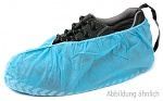 WARMBIER - 8782.D.O - Disposable shoe cover with contact band, blue, 100 pieces, WL26205