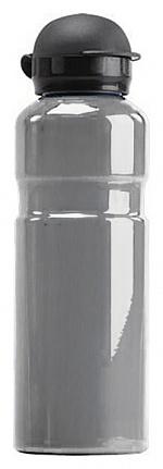SAFEGUARD - 41-096-6015 - ESD water bottle, grey, aluminium, 600 ml, WL26644