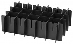 DIVERSE - 23-172-7101 - ESD divider for compartments, 250x100 mm, WL32884