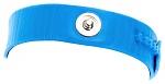 30-560-0104 - ESD Armband, Kunststoff, hellblau, 3 mm Druckknopf, WL24922