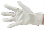51-690-0600 - ESD glove polyester, lint-free, PU cleanroom compatible, white, coated, S, WL28135