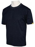 HB SCHUTZBEKLEIDUNG - 08010 86002 000 46 - ESD T-Shirt Men short sleeve, black, XS, WL27622