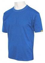 HB SCHUTZBEKLEIDUNG - 08010 86002 000 41 - ESD T-Shirt Men short sleeve, royal, XS, WL20348