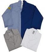 HB SCHUTZBEKLEIDUNG - 08005 48019 000 471 - ESD work coat CONDUCTEX, long sleeve, women, light blue, XS, WL39605