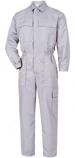HB SCHUTZBEKLEIDUNG - Habetex Micronplus OV-GR - Cleanroom overall grey, 42/44, WL33374