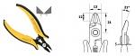 PIERGIACOMI - TR 5000 B - side cutter, WL44354
