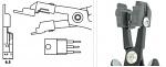 PIERGIACOMI - PN 5050/60 D - ESD crimping pliers, WL42867
