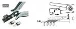 PIERGIACOMI - PN 5050/67 D - ESD beading tongs, WL40555