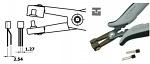 PIERGIACOMI - PN 5050/49 D - ESD crimping pliers, WL43063