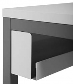 KARL - 34.527.70 - Cable tray, grey, 1600 x 100 x 130 mm, WL34127