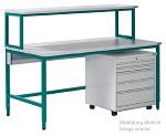 KARL - BASIC-OPERATOR - ESD Arbeitsplatzsystem Basic Operator, blau, 1600 x 800 x 780 mm, WL31881