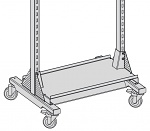 KARL - 69.607.70 - Ablageboard auf Grundgestell, 1055 x 400 mm, CAR-Breite 1220 mm, WL36671