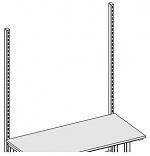 KARL - 29.122.70 - Vertikalstrebe für Tischaubau Sintro, 40 x 60 x 1340 mm, WL34979
