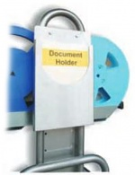 SAFEGUARD - 8100056 - Document holder A4, for side support for bobbin stand Chariotte, WL35890