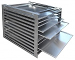 SAFEGUARD - 8104.865 - Rack for 10 trays / for Ghibli II, WL40670