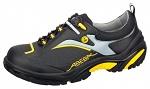 ABEBA - 34803-38 - ESD safety shoes Crawler, low shoe black/yellow, size 38, WL34863