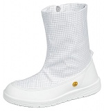 ABEBA - 3620-35 - ESD professional shoes clean room, boots white, size 35, WL40656