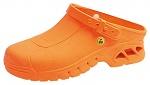 ABEBA - 39630-35/36 - ESD Clogs orange, autoclavable, size 35/36, WL29898