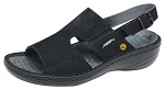 ABEBA - 36872-36 - ESD Sandal black, professional shoe Reflexor Comfort, size 36, WL29752