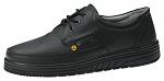 ABEBA - 32610-35 - ESD professional shoes air cushion, lace-up shoe black , size 35, WL29700