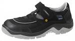 ABEBA - 32189-36 - ESD safety shoes anatomical, sandal black, size 36, WL29614