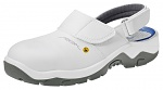 ABEBA - 32120-36 - ESD safety shoes anatomical, clog white, size 36, WL29533