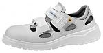 ABEBA - 7131131-35 - ESD Sandale weiß, Berufsschuh light, Größe 35, WL29383