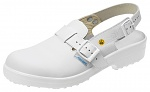 ABEBA - 31000-36 - ESD safety shoes Classic, Clog white, size 36, WL29178