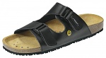 ABEBA - 4085-34 - ESD Sandal black, professional shoes Nature, size 34, WL29842