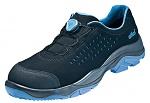 ATLAS - 617-36 - ESD half shoe with boa closure, unisex, black/blue, size 36, WL45545