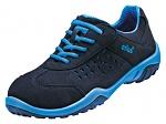 ATLAS - 452-35 - ESD lace-up low shoe, Sportline, women, black/blue, size 35, WL44586