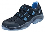 ATLAS - 877-36 - ESD low shoe with velcro, blueline, unisex, black/blue, size 36, WL44595