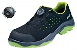 ATLAS - 623-36 - ESD half shoe with boa closure, unisex, black/green, size 36, WL42741