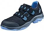 ATLAS - 224-36 - ESD low shoe with velcro closure, Sportline, unisex, black/blue, size 36, WL33915