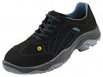 ATLAS - 143-36 - ESD lace-up low shoe, blueline, unisex, black/blue, size 36, WL28457