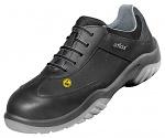 ATLAS - 121-36 - ESD lace-up low shoe, unisex, black/blue, size 36, WL28468
