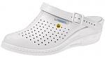 ABEBA - 5001-36 - ESD Clogs white, professional shoes high original, size 36, WL31004