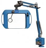 LICO - BIG EYE2 LED-UV - Illuminated magnifier, blue - LED broadband UV light, WL41208