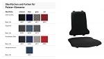 BIMOS - 9875-6801 - Sintec Interchangeable upholstery fabric Duotec, black, WL40187