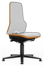 BIMOS - 9570E-9999-3279 - ESD Chair Neon 1 with glider, Flexband orange - Synchrontechnik, WL31083