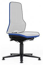 BIMOS - 9570E-9999-3277 - ESD Chair Neon 1 with glider, Flexband blue - Synchrontechnik, WL31085