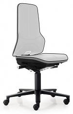 BIMOS - 9563E-9999-3278 - ESD Chair Neon 2 with castors Flexband grey, permanent contact, WL29075