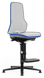 BIMOS - 9561-9999-3277 - Neon 3 work chair glider and climbing aid, Flexband blue, permanent contact, WL40151