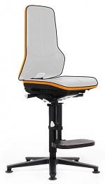 BIMOS - 9561E-9999-3279 - ESD chair Neon 3, glider and climbing aid, Flexband orange - permanent contact, WL31079