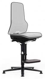 BIMOS - 9561E-9999-3278 - ESD chair Neon 3, glider and climbing aid, flexband grey, permanent contact, WL31081