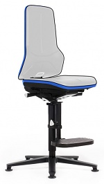 BIMOS - 9561E-9999-3277 - ESD chair Neon 3, glider and climbing aid, Flexband blue, permanent contact, WL31080