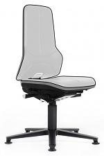 BIMOS - 9560E-9999-3278 - ESD Chair Neon 1 with glider, Flexband grey, permanent contact, WL31090
