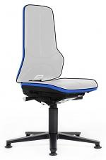 BIMOS - 9560E-9999-3277 - ESD Chair Neon 1 with glider, Flexband blue, permanent contact, WL31089